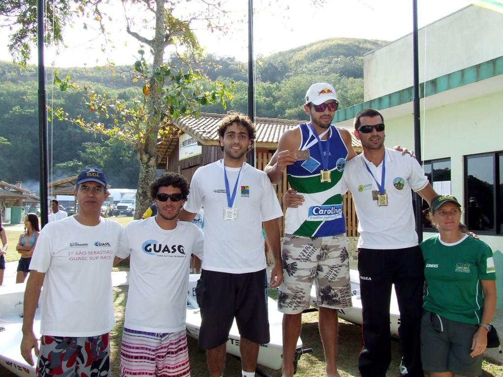 Vinicius Zeidan, Celso de Oliveira e Gustavo Miller