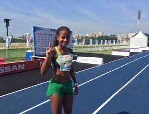 """Vitoria venceu eliminatória brasileira do desafio """"Bolt contra o tempo"""" (Foto: Amanda Kestelman)"""