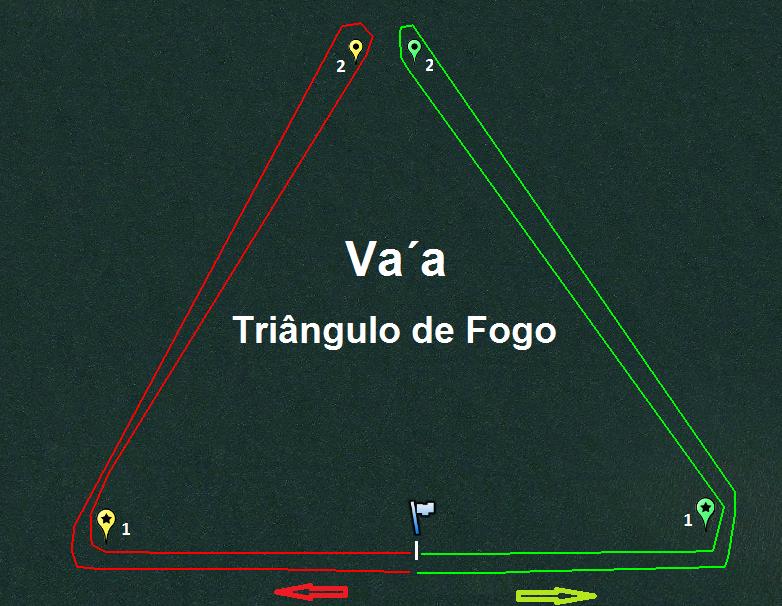 Triangulo De Fogo Va'a