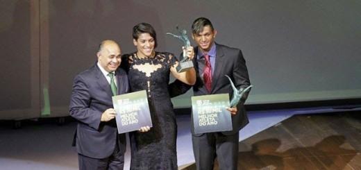 Ana Marcela Cunha e Isaquias Queiroz são eleitos os Atletas do Ano de 2015