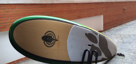 "VENDE-SE PRANCHA SUP RICO SURF-SALAZAR 10,6"" x 32"" x 4 3/4"""