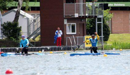 Isaquias e Erlon disputaram a eliminatória 3 do C2 1000m