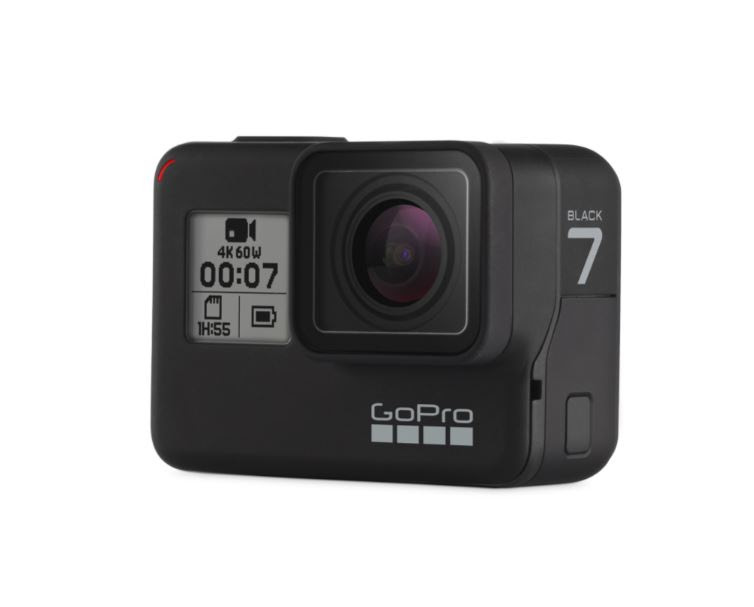 A HERO7 Black, com transmissão ao vivo e estabilização de vídeo 'HyperSmooth', define um novo patamar para as imagens digitais.