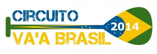 Logo Circuito Va'a Brasil 2014