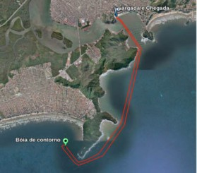 Percurso Circuito Va'a Brasil