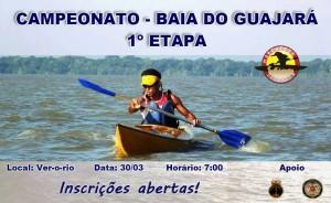 1ª Etapa do Campeonato Baía do Guajará