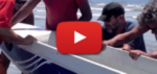 O Resgate da Canoa em Ilhabela