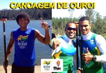 Brasil conquista ouro no Chile