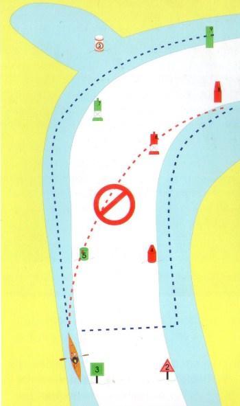 Como cruzar um canal a bordo do caiaque