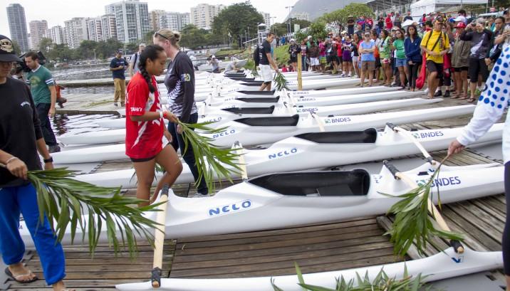 Batismo canoas mundial