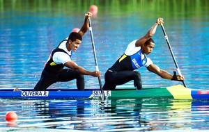 Erlon Silva e Ronilson Oliveira estiveram nas Olimpíadas (Foto: Getty Images)