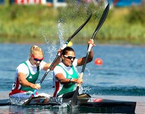 Kovács (direita) é 31 vezes campeã mundial (Foto: Getty Images)