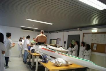 Elaboração de novo protótipo de assento moldado para o atleta Norberto Mourão na canoa de classe V1