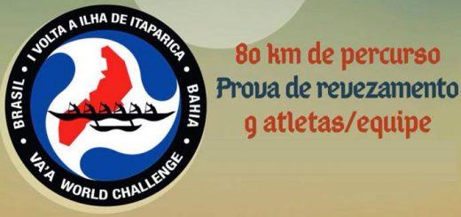 Desafio que acontece no dia 06 de agosto quer conquistar o título de maior prova de Va'a do mundo