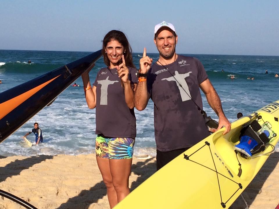 Patrícia Linger e José Marcos Mendes Filho