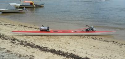 vende-se canoa havaiana oc2 usada