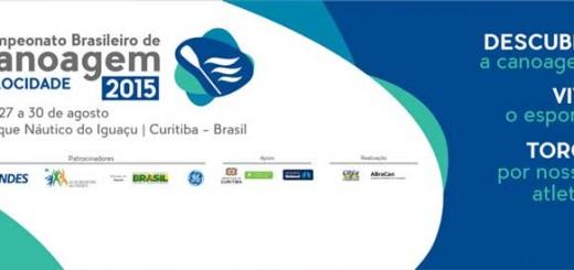 Campeonato Brasileiro de Canoagem Velocidade e Paracanoagem 2015
