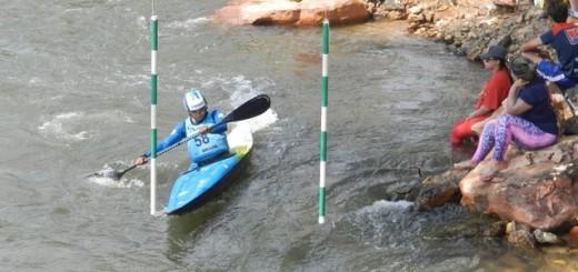 Canoagem Slalom em Itiquira
