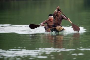 Jogos Indígenas têm treinamento de canoagem