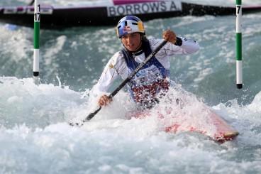 Jessica Fox conquistou vaga Olímpica para a Austrália na K1 feminina (Foto: Harry Hubbard/Getty Images)