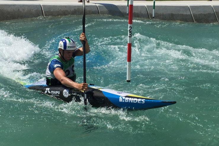 Ana Sátila fica em sexto no Aquece Rio