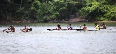 Canoagem nos Jogos Mundiais dos Povos Indígenas