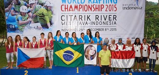 Equipes Sub-23 e Sub-19 de Rafting R6 brilham no Campeonato Mundial