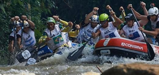 Brasil é tetracampeão mundial de Rafting