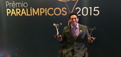 Luis Carlos Cardoso é eleito o melhor atleta paralímpico do ano