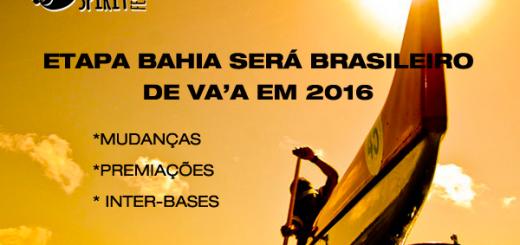 Aloha Spirit etapa Bahia será etapa do Brasileiro de VA'A