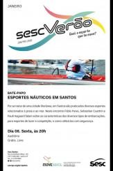 Programação Sesc Verão 2016 - Esportes Olímpicos