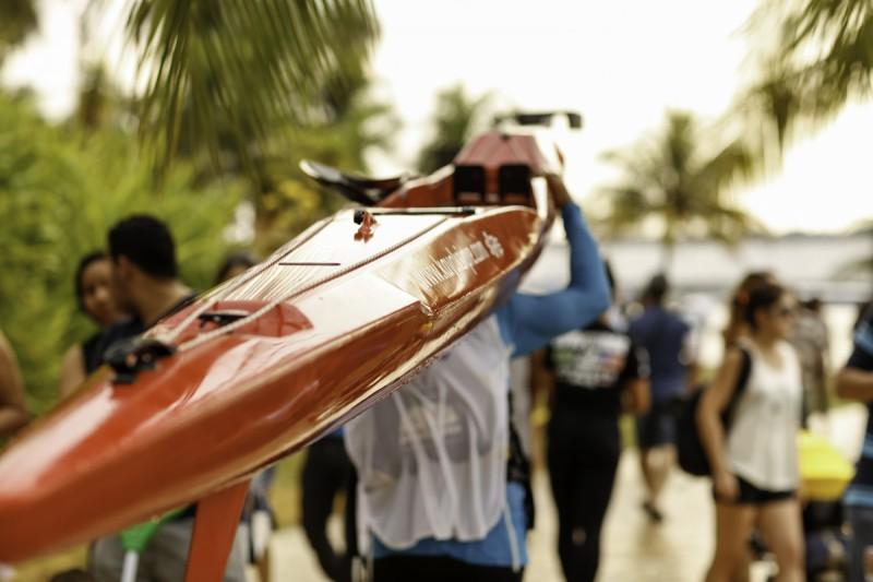 Canoagem Oceânica e Va'a volta a Brasília