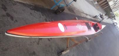 Surfski Ciclone Evolution Vermelho