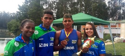 Brasil conquista 13 medalhas no Sul-americano no Chile
