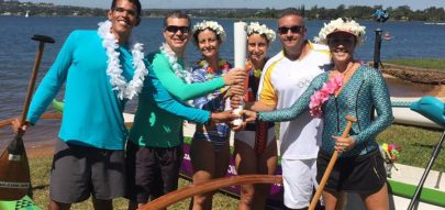 Tocha Olímpica chega ao Brasil e rema de canoa no Lago Paranoá