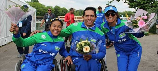 Luis Carlos Cardoso, Aline Lopes e Debora Benevides