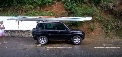 Caiaque modificado para surfski - Alaski