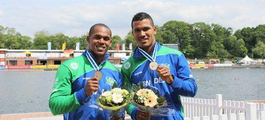 Erlon de Souza e Ronilson Oliveira levam o bronze no C2 200m