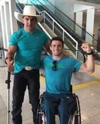 Fernando Rufino, o Cowboy e Igor Tofalini