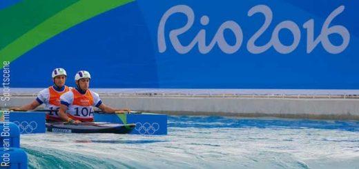 C2 Masculino do Brasil se classifica na Canoagem Slalom
