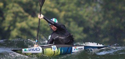Brasileiros garantiram presença nas finais que acontecem amanhã na Lagoa Rodrigo de Freitas, no Rio de Janeiro.