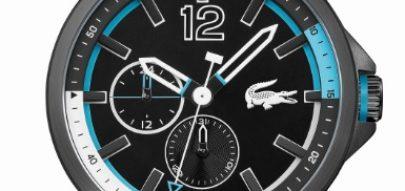 318056feb8e Novo relógio LACOSTE CAPBRETON traz no design a herança náutica