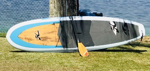 1a367b8ff VENDE-SE  SUP Hobie 11 pés com 14 kg + remo de fibra de carbono e bambu